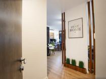 Apartament 2 Camere mobilat și utilat LUX Luceafărul