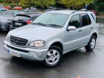 Mercedes ML 270 7 Locuri Volan dreapta acte valabile