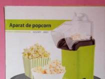 Aparat de facut popcorn fara ulei, cu aer cald