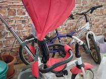 Tricicleta Coccolle urbio rosu