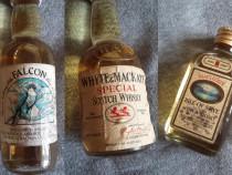 3 Miniaturi sticle Whisky - colectie - anii '70-'80