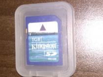 Card SD 1Gb Kingston pentru Wii modat