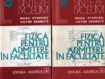 Fizică pentru admitere în facultate (2 vol.)