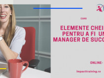 Curs Elemente cheie pentru a fi manager de succes online
