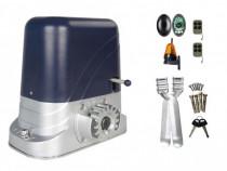 Kit Automatizare Poarta Culisanta 800kg cu Fotocelule Lampa