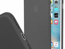 Iphone 7 7+ 8 8+ Husa Ultra Slim Plastic Mat Transparent