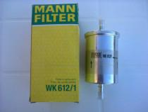 Filtru benzina Mann WK 612/1 pt Logan, Vivaro, Clio 1, 2, 3