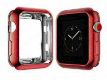 Carcasa silicon Apple Watch 38mm, husa protectie spate margi