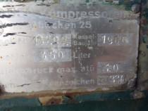 Compresor de 350 litrii produs german