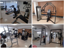 Aparate fitness sala completa/afacere