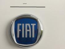 Emblema FIAT 120 mm albastru