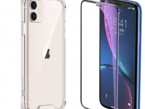 Iphone 11 11 PRO 11 PRO MAX Husa Anti Soc si Folie Sticla