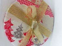 Set 4 biscuiti pahare handmade