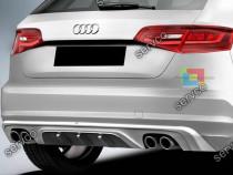 Difuzor bara spate Audi A3 8V ABT 2012-2016 v1