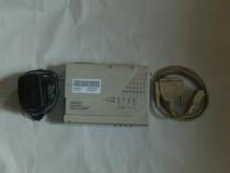 Modem US Robotics 56k extern +cabluri serial si alimentator