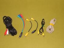 Cabluri convertoare S-video to RCA, Jack to RCA