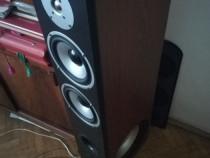 Boxe podea standfloor + amplificator, HI-FI, 2x250RMS
