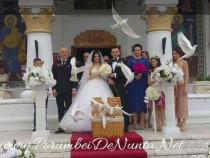 Porumbei pentru nunta Constanta