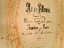 B63- Album vechi partituri muzicale-Bariton si bas anii 1900