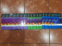 Carti informatica fara profesor 16 volume+16 cd-uri