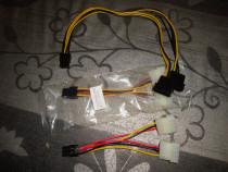 Cablu adaptor alimentare de la sursa la placa video PCI-E 6