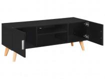 Comodă TV, negru, 120 x 40 x 46 cm, MDF 247308