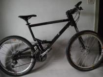 Bicicleta Full Cannondale jekyll lefty, full xtr