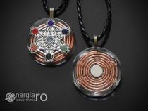 Pandantiv Orgonic Orgon Magnetic Cubul lui Metatron - ORG018