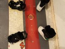 Snowboard booti lrgaturi Burton