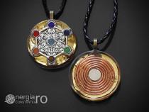 Pandantiv Orgon Orgonic Magnetic Cubul lui Metatron - ORG019