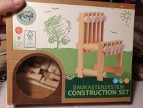 Varis toys construction set - scaun din lemn