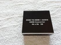 Convertor HDMI la HDMI 4K/2K