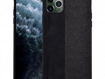 Husa telefon plastic apple iphone 11 pro 5.8 textilblack