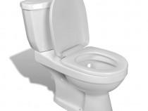 Toaletă cu rezervor Alb 240549