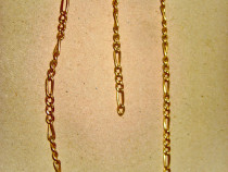B128-Lant dama pentru picior sau mana in metal aurit 35 cm.