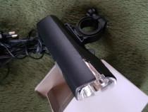 Lampa bicicleta LED frontală reglabilă baterie încărcabilă