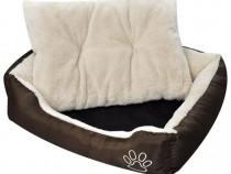 Pat călduros pentru câini cu pernă căptușită, 170203