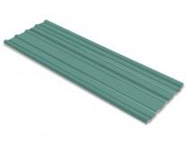 Panouri pentru acoperiș, oțel galvanizat, verde,42984