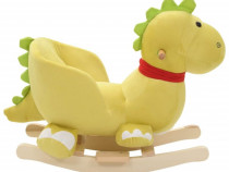 Balansoar animal cu spătar dragon 80225