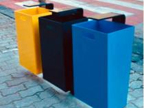Cos gunoi stradal colectare selectiva/mobilier urban