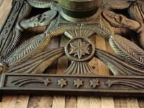 Suport mare fonta L=38cm,greu 6kg,art nouveau France