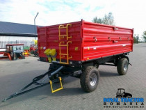 Metal-Fach T710/2 remorca agricola cu 2 ax