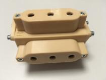 Sablon mobila plastic dur bej forma U v.3 ericsoane 5/5mm