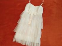 Rochie Speciala alba Eleganta evenimente ocazii seara rochii