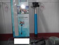 Selfie Stick-Bluetooth Nou culoarea albastra