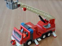 Masina de pompieri Playmobil Geobra 1996 +figurina+accesorii