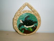 Ornament gen tablou superb, cu placa ceramica!