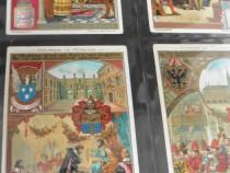 Album vechi cartoline liebig litografii 1890