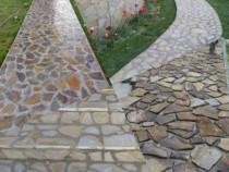 Amenajări Piatră grătare și plante ornamentale