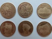 Lot monede 50 bani moneda comemorativa, monezi aniversare
